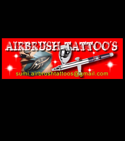 Airbrush Tattoo's