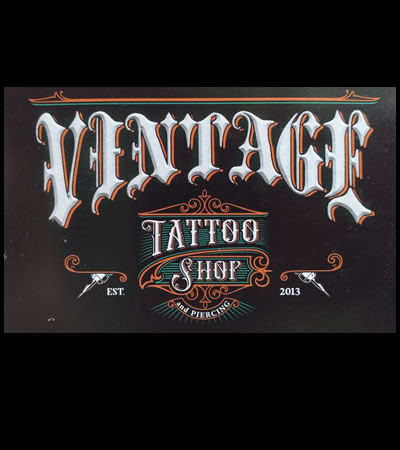 Vintage Tattoo Piercing Shop